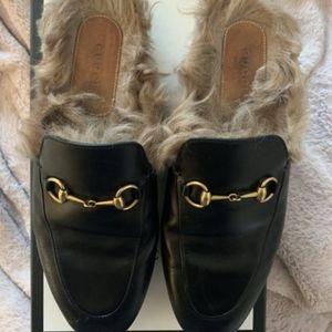 Gucci Princetown Fur
